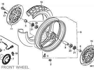 Honda XL1000V VARADERO 2007 (7) FRANCE / CMF parts lists