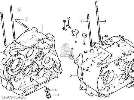 Honda Xl100s 1980 (a) Usa parts list partsmanual partsfiche