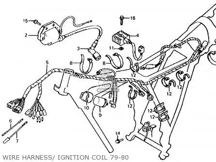 Honda XL100S 1980 (A) USA parts lists and schematics