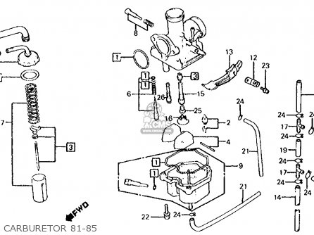 Yamaha G19 Golf Cart 48 Volt Wiring Diagram