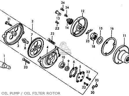 Honda XL125 1977 USA parts lists and schematics