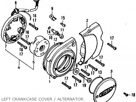 Honda XL125 1978 USA parts lists and schematics