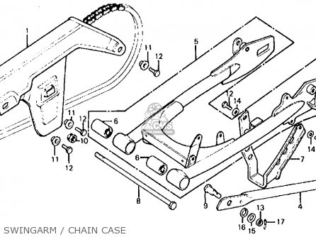Honda Xl125 K0 1974 Usa parts list partsmanual partsfiche