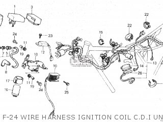 Honda XL125R 1982 (C) parts lists and schematics