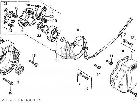 Honda XL125S 1979 (Z) GENERAL EXPORT / KPH parts lists and