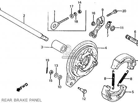Honda Xl125s 1979 (z) Usa parts list partsmanual partsfiche