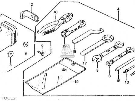 Honda XL125S 1979 (Z) USA parts lists and schematics