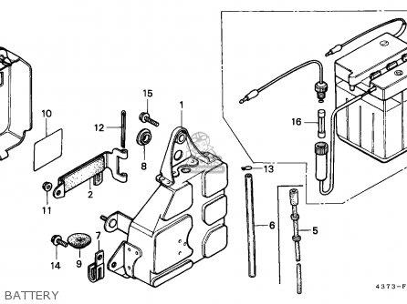 Honda XL125S 1980 (A) BELGIUM / KPH parts lists and schematics