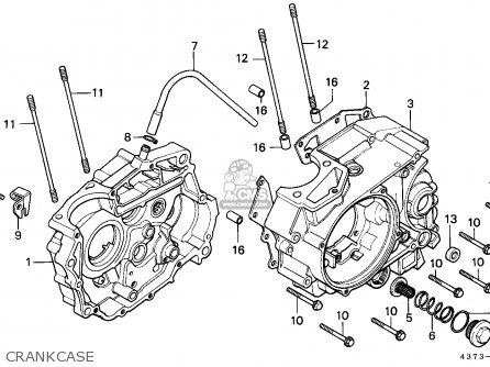 Honda Xl125s 1981 (b) England / Mph parts list partsmanual