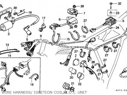 Honda XL125S 1981 (B) SWEDEN / KPH parts lists and schematics