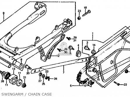 Honda XL125S 1981 (B) USA parts lists and schematics