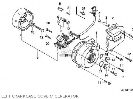 Honda Xl125s 1981 Canada / Kph parts list partsmanual
