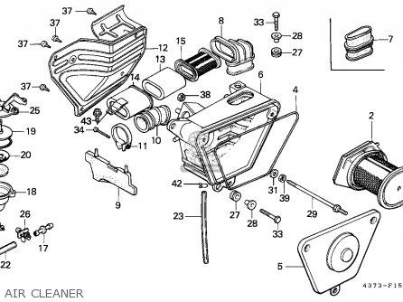 Honda Xl125s 1982 (c) Australia / Kph parts list