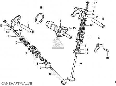 Honda Xl125s 1982 (c) Canada / Kph parts list partsmanual