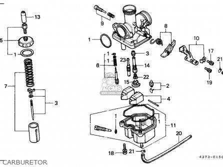 Honda XL125S 1982 (C) GENERAL EXPORT / MPH parts lists and