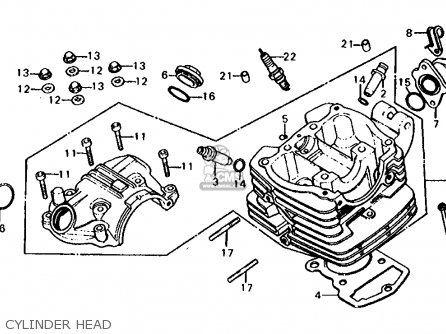 Honda Xl125s Wiring Diagram. Honda. Auto Wiring Diagram
