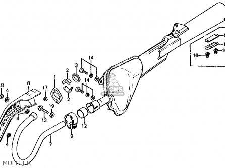 Honda Xl125s 1982 (c) Usa parts list partsmanual partsfiche