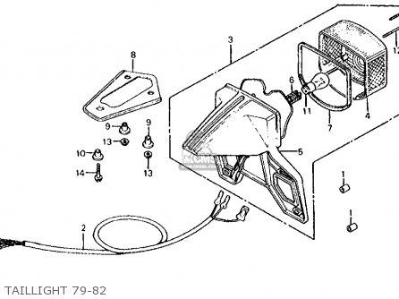 Honda XL125S 1982 (C) USA parts lists and schematics