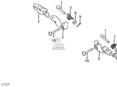 Honda Xl125s 1984 (e) Usa parts list partsmanual partsfiche