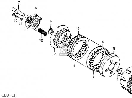 Honda XL125S 1985 (F) USA parts lists and schematics