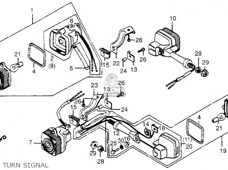 Honda XL125S 1985 (F) USA parts lists and schematics