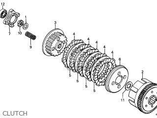 Honda XL125SC 1987 (H) FRANCE / KPH parts lists and schematics