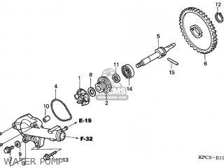 Honda Xl125v Varadero 2005 (5) England / Mph parts list