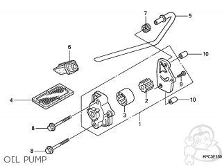 Honda Xl125v Varadero 2007 (7) Europe / Dx parts list