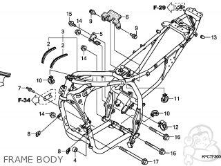 Honda Xl125v Varadero 2009 (9) England / Mkh parts list