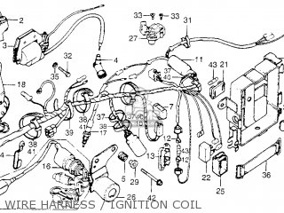 1973 HONDA XL175 WIRING DIAGRAM FOR A - Auto Electrical ... on