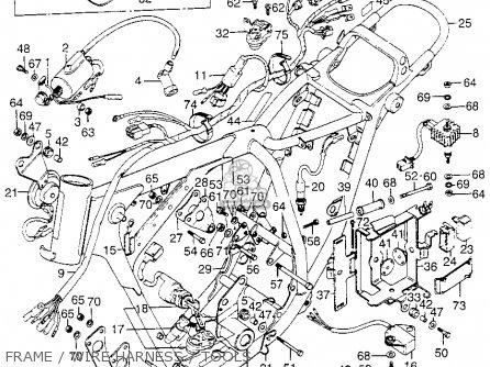 Honda XL175 K0 1973 USA parts lists and schematics
