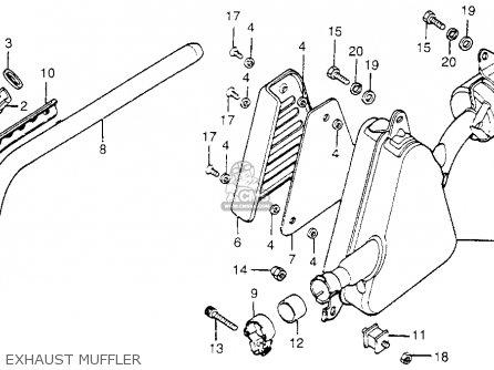 Honda XL175 K3 1976 USA parts lists and schematics
