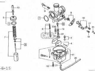 Honda XL185S 1980 (A) CANADA parts lists and schematics