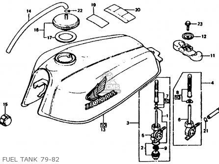 Honda XL185S 1982 (C) USA parts lists and schematics