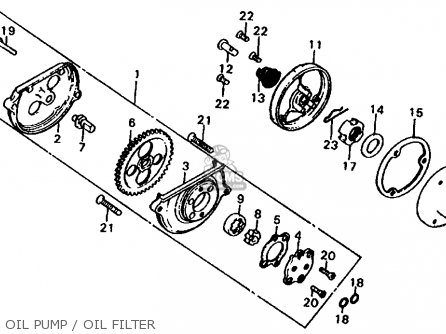 Honda Xl185s 1982 (c) Usa parts list partsmanual partsfiche