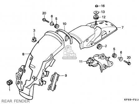 Honda XL185S 1986 (G) CANADA parts lists and schematics