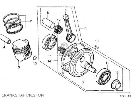Honda Xl185s 1993 (p) Australia parts list partsmanual