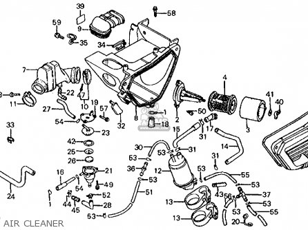 Honda Xl200r 1983 Usa parts list partsmanual partsfiche