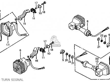 Honda Xl200r 1984 (e) Usa parts list partsmanual partsfiche