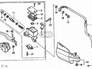 Honda XL250 1995 TYPE II (S) MD31-100 parts lists and