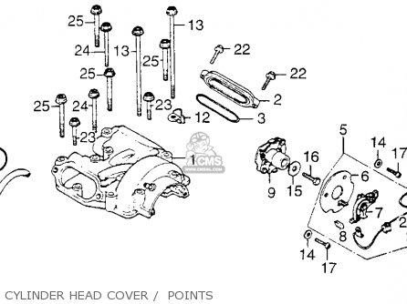Honda XL250 MOTOSPORT 1976 USA parts lists and schematics