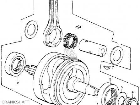 Honda Xl250 Motosport 250 1975 Xl250k0 Usa parts list