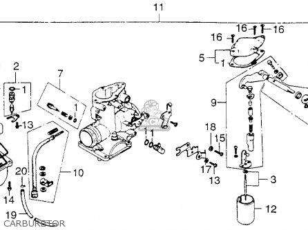 Honda Xl250 Motosport 250 1976 Usa parts list partsmanual