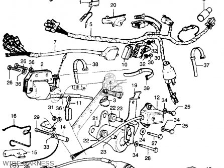 Honda XL250 MOTOSPORT K0 1975 USA parts lists and schematics