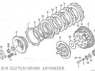 Honda XL250R 1982 (C) BELGIUM parts lists and schematics