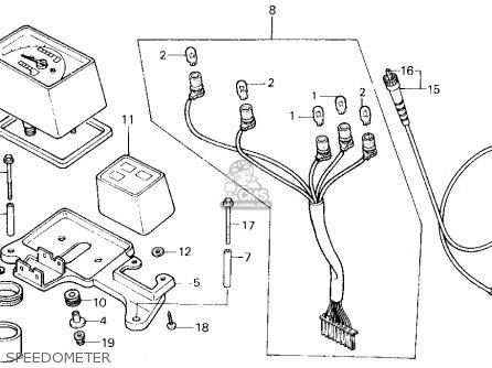 Honda Xl250r 1985 (f) Usa parts list partsmanual partsfiche