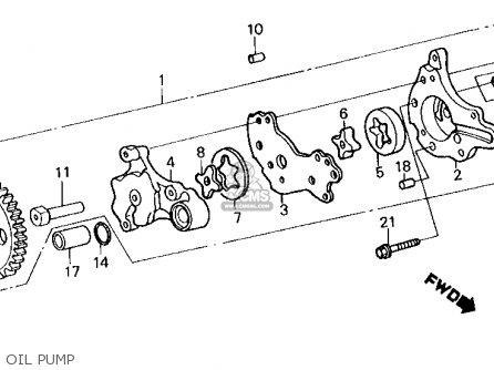 Honda Xl250r 1987 (h) Usa parts list partsmanual partsfiche