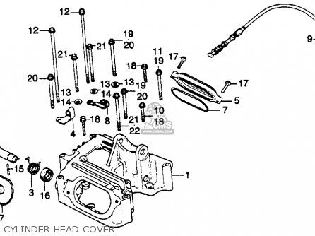 Honda XL250S 1978 USA parts lists and schematics