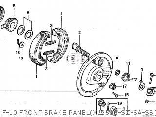 Honda XL250S 1981 (B) BELGIUM parts lists and schematics