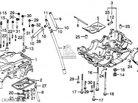 Honda XL350 1978 USA parts lists and schematics